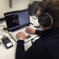 Perizia file audio con trascrizione