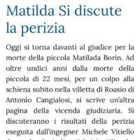 Omicidio di Matilda Borin, bambina di soli 22 mesi