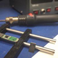 Chip off ed estrazione dati da pendrive con danno fisico.